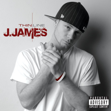 Jesse Mader - J.James - THIN LINE - album cover